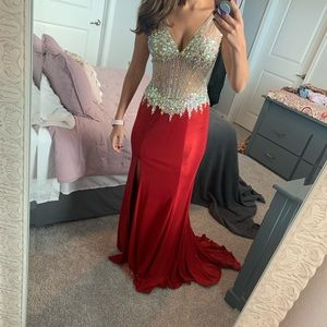 Red Prom or Pageant Dress
